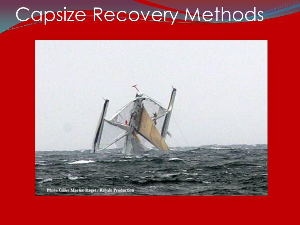 Capsize Recovery Methods