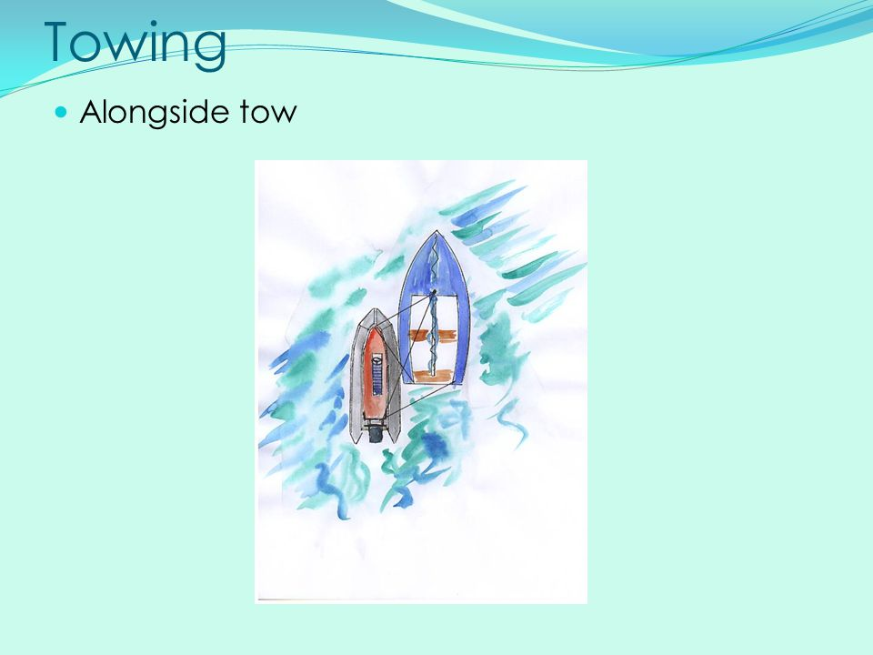 Towing Alongside tow