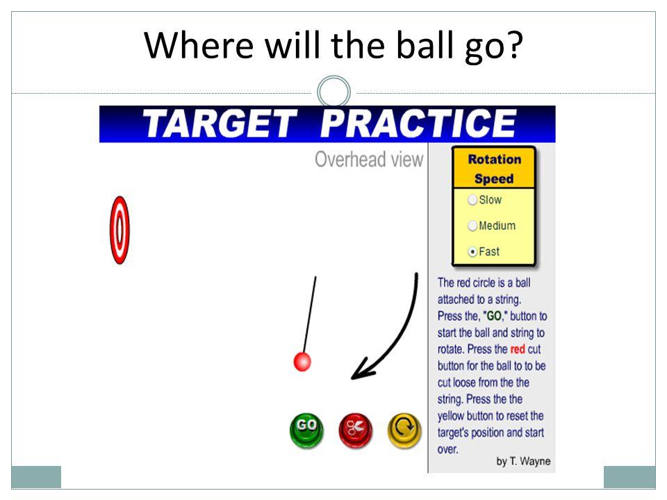 Where will the ball go?