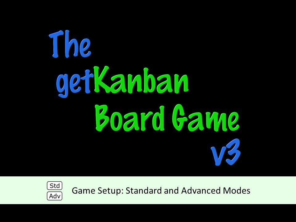 Game Setup: Standard and Advanced Modes