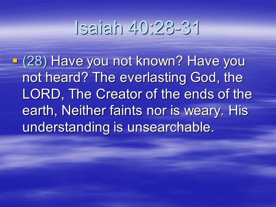 Haggai 1:3-9  (7) Thus says the LORD of hosts: Consider your ways.