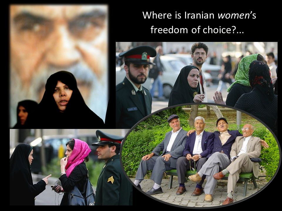 Where is Iranian women's freedom of choice ...