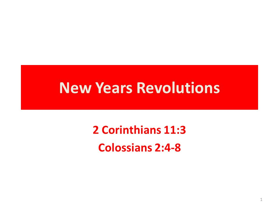 2 Corinthians 11:3 But I fear, lest somehow, as the serpent deceived Eve by his craftiness, so your minds may be corrupted from the simplicity that is in Christ. - NKJV 2