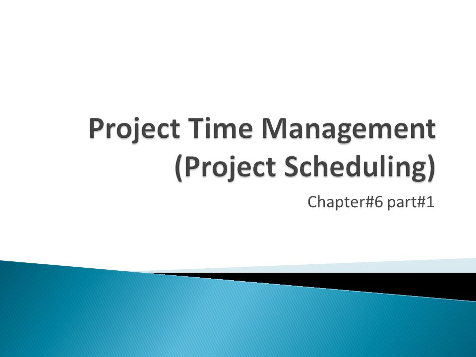 6 - 42  If one of more activities on the critical path takes longer than planned, the whole project schedule will slip unless corrective action is taken  Misconceptions: ◦ The critical path is not the one with all the critical activities; it only accounts for time ◦ The critical path can change as the project progresses!!!!!!!!!
