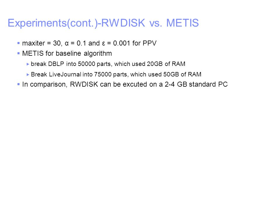 IBM – China Research Lab Experiments(cont.)-RWDISK vs.