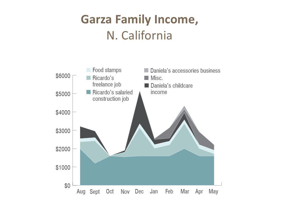 Garza Family Income, N. California 13