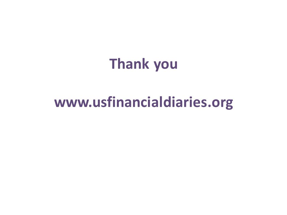 Thank you www.usfinancialdiaries.org