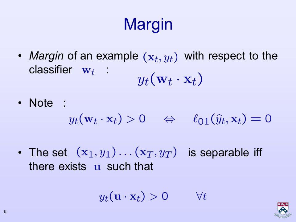14 Prediction : Confidence in prediction: Linear Classifiers (cntd.)