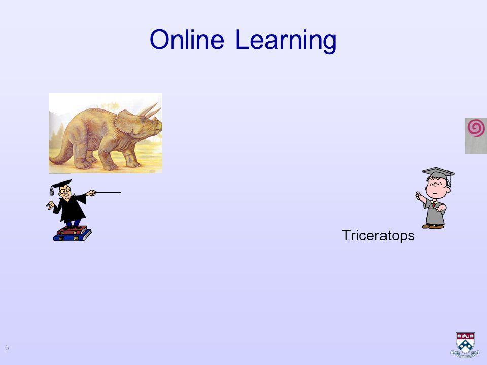 4 Online Learning Tyrannosaurus rex