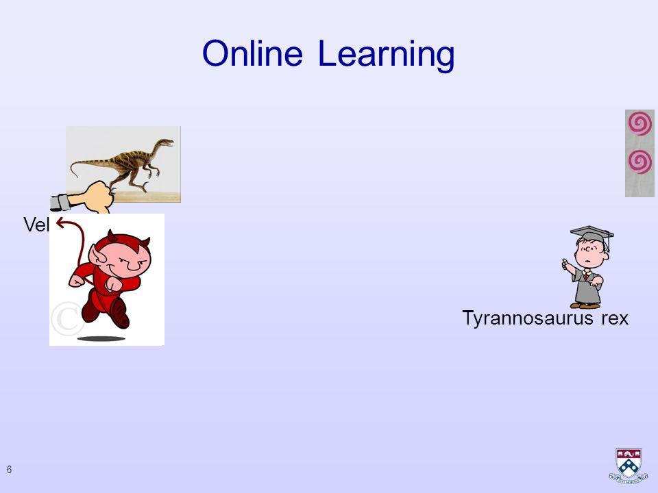 6 Online Learning Tyrannosaurus rex Velocireptor