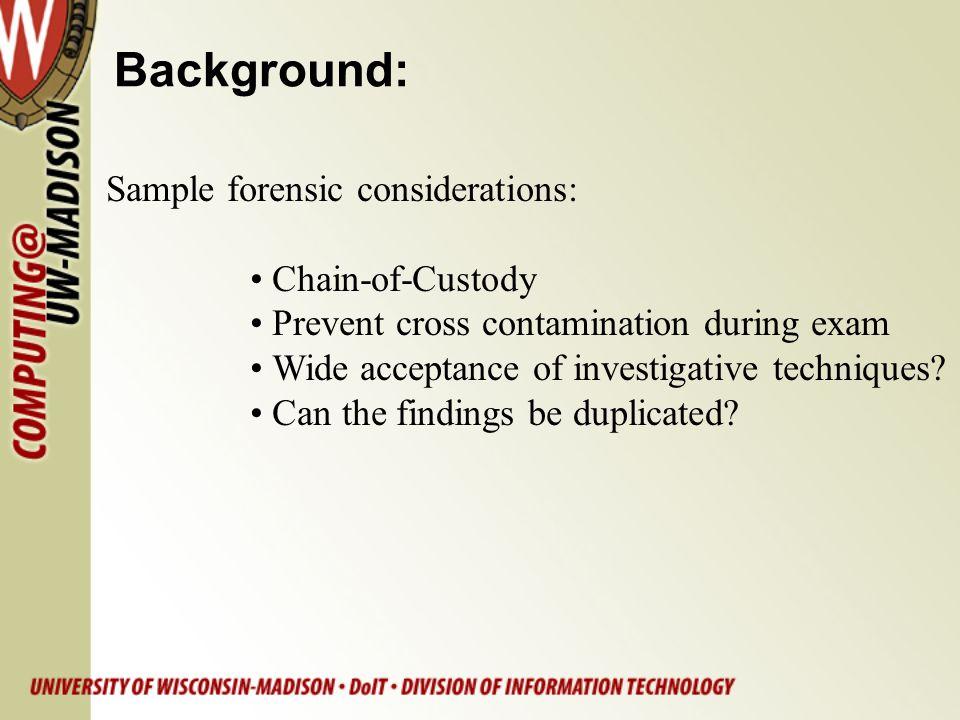 Evidence Preservation: Implement write blocker bridges: firewire/usb -> IDE