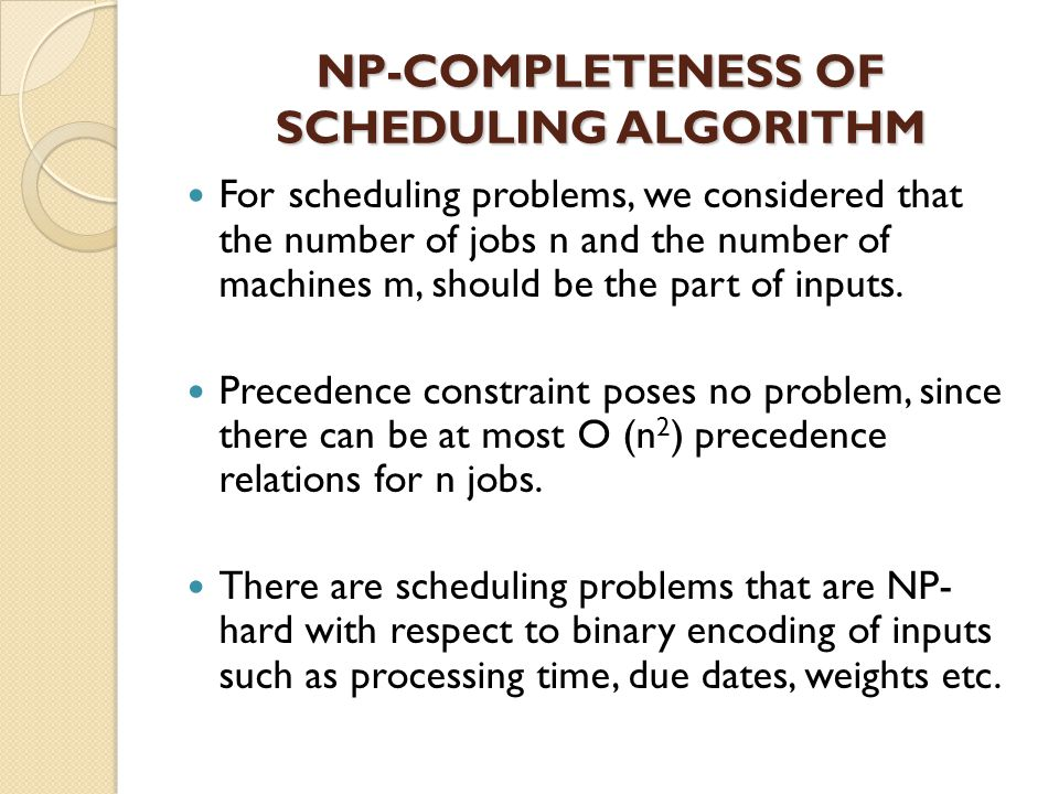 APPROXIMATING SCHEDULING ALGORITHM Approximation algorithm has been adopted to solve the problem which has high order of polynomial time or the problems belong to the NP-class.