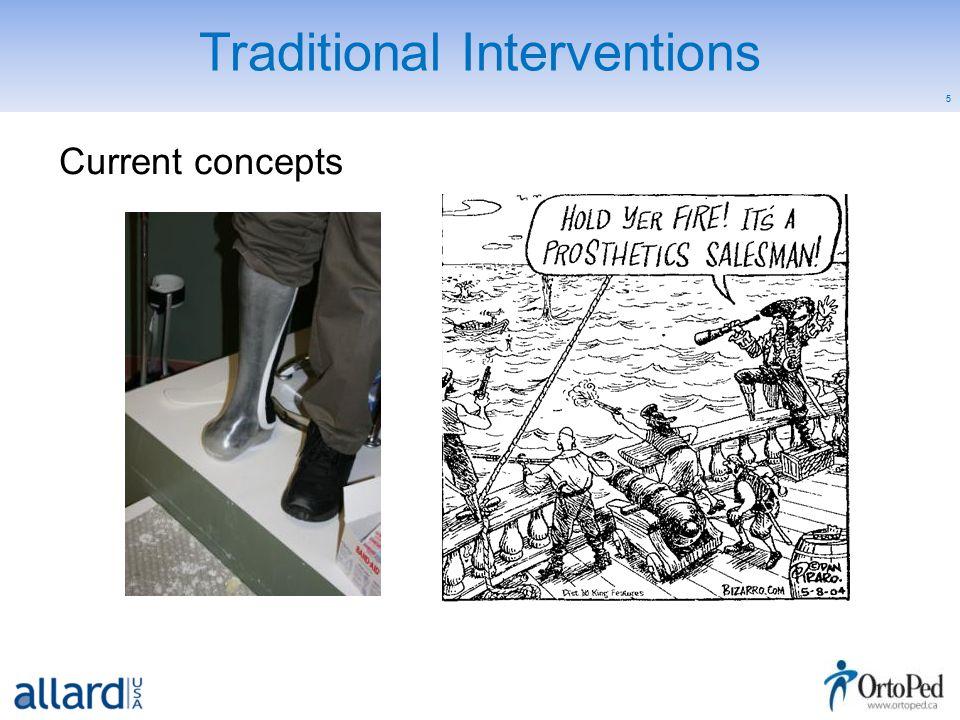 6 Comprehensive Management Objectives: Limb preservation –Friction –Pressure –Shearing forces