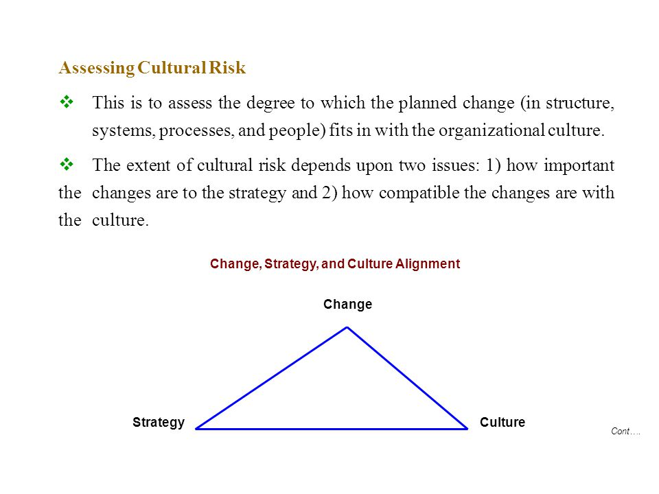 Cont….Is it Possible to Change the Corporate Culture.