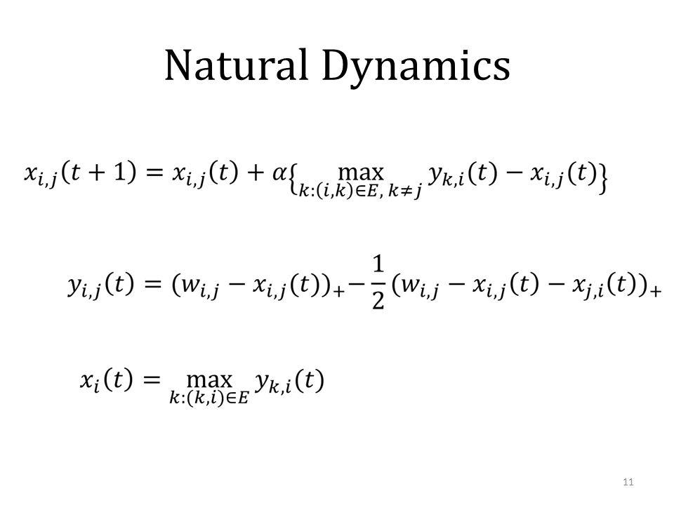 Natural Dynamics 11