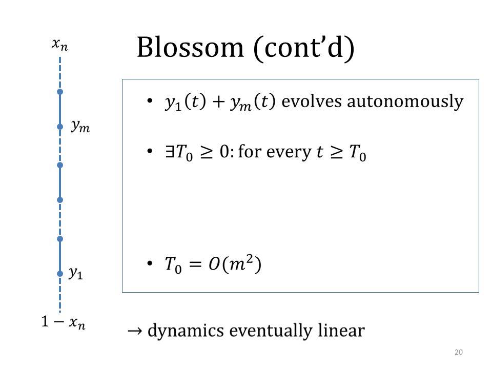 Blossom (cont'd) 20
