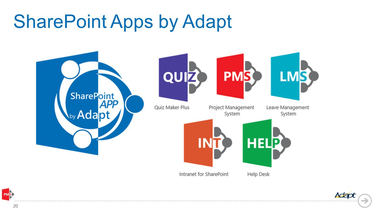 SharePoint Apps by Adapt