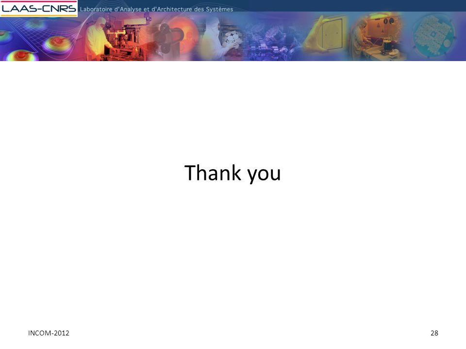 Thank you 28INCOM-2012