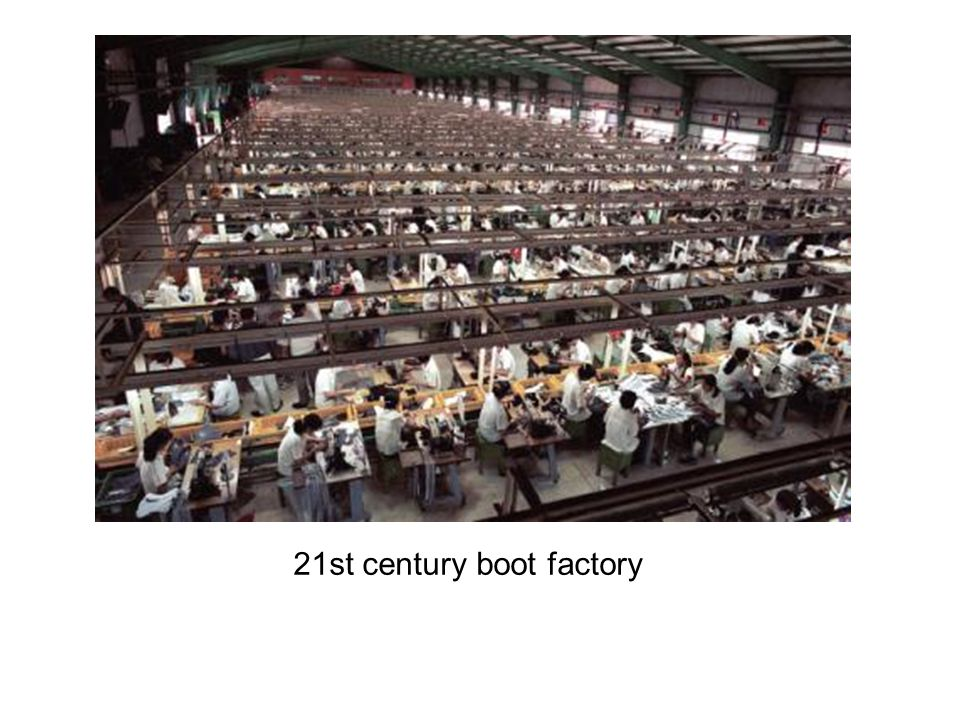 21st century boot factory