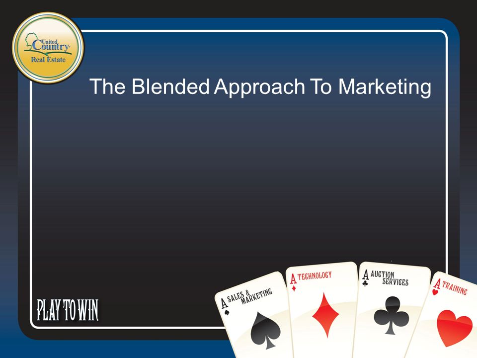 The Blended Approach To Marketing