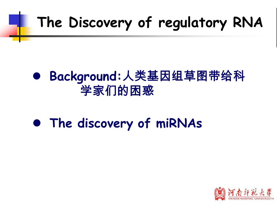 The question to be addressed is: Why exogenous dsRNA can inhibit the expression of genes homologous to that RNA?