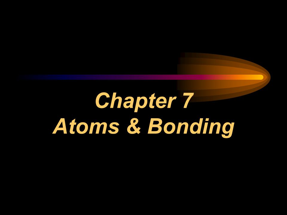 1.Ionic Bonds  What holds the atoms together is their opposite charges.