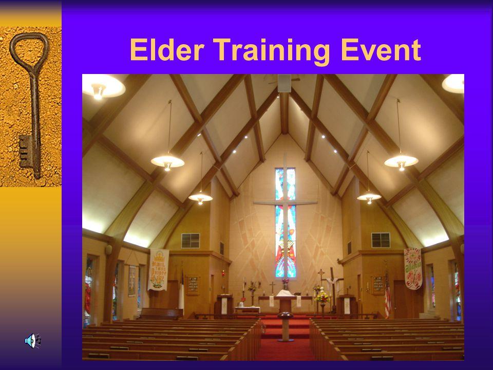 Elder Training Event