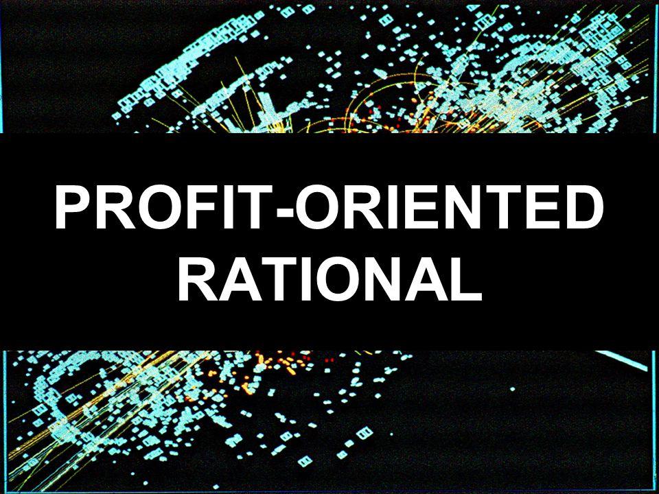 PROFIT-ORIENTED RATIONAL