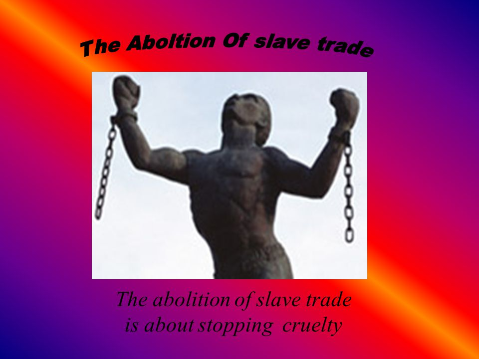 Slaves can be bought and sold, and are denied all rights, even to have a say about what happens to their children.