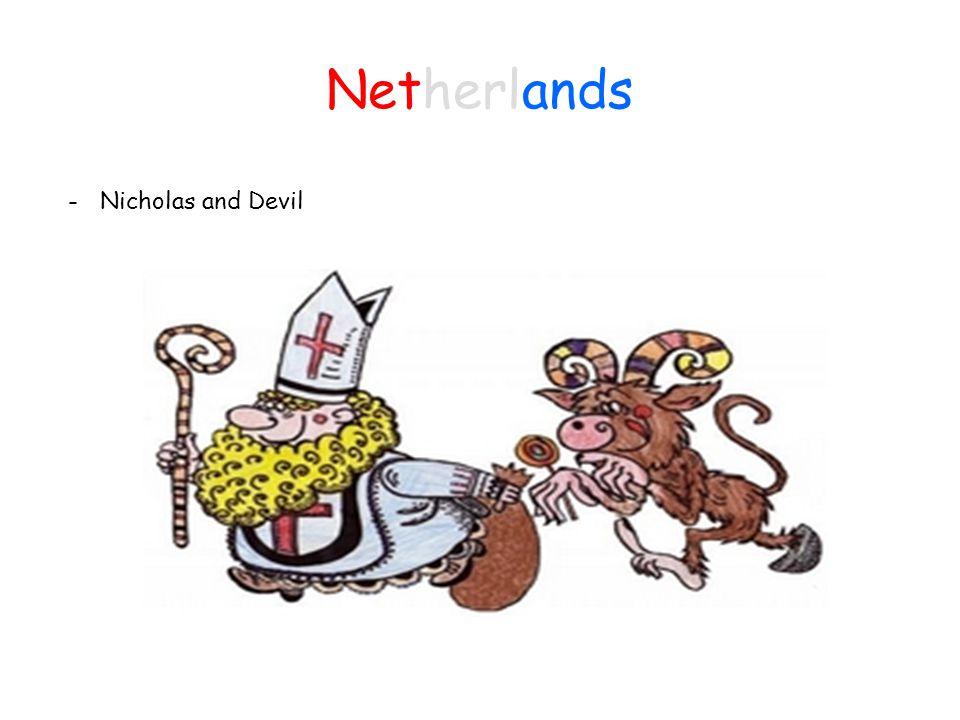 Netherlands - Nicholas and Devil
