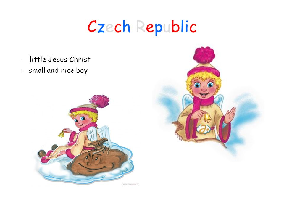 Czech Republic - little Jesus Christ - small and nice boy