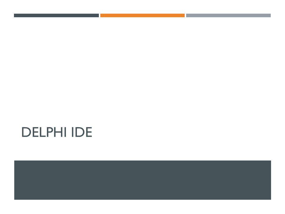 DELPHI IDE