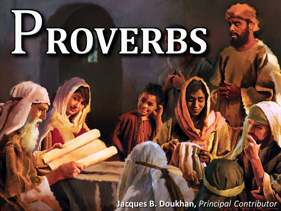 Proverbs Our Goal F rom the book of Proverbs we will learn how to be wise, but correctly, in practical ways.