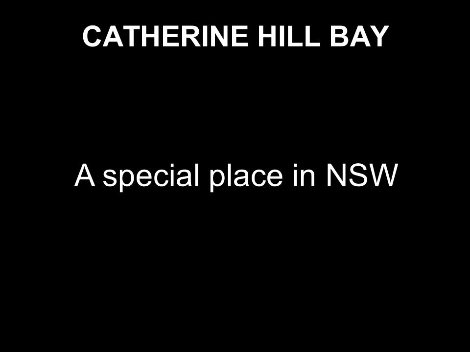A special place in NSW