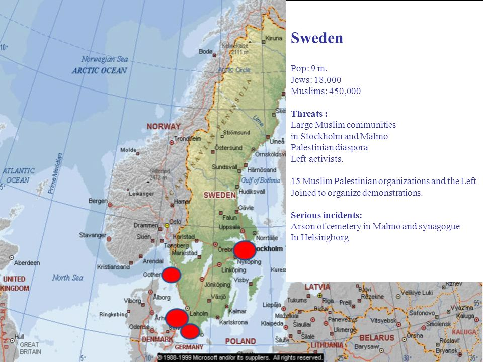 Sweden Pop: 9 m.