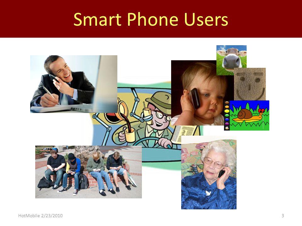 3 Smart Phone Users