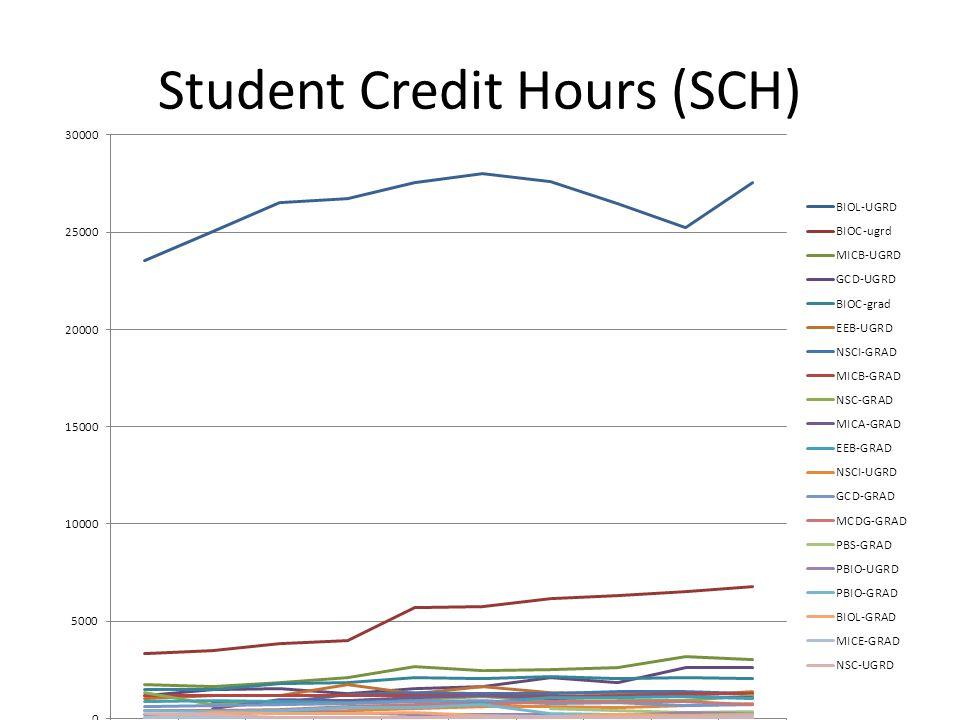 Student Credit Hours (SCH)