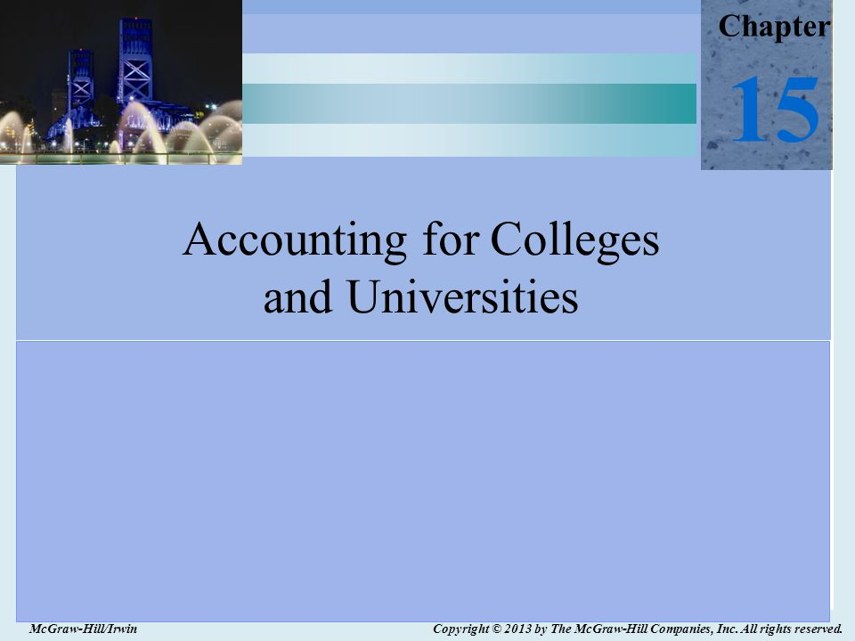 15-12  Tuition and fees  Federal, state, and local appropriations  Federal, state, and local grants and contracts  Private gifts  Investment income  Auxiliary services NACUBO Revenue Classifications