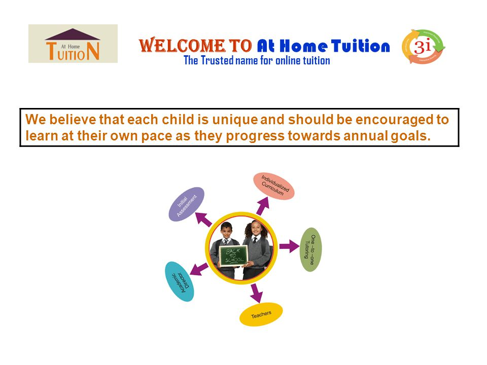 Welcome to At Home Tuition The Trusted name for online tuition Do you have an idea on online tutoring ?.