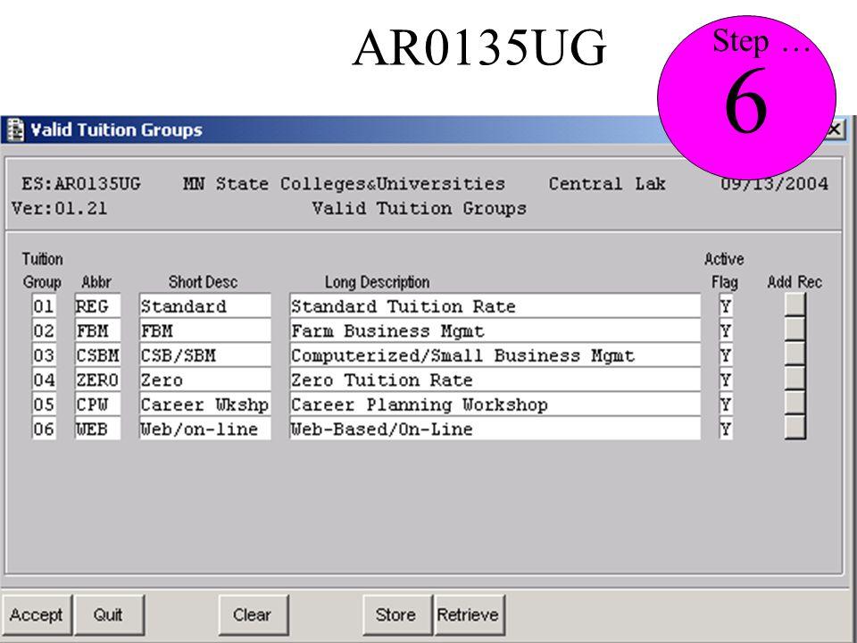 AR0135UG 6 Step …