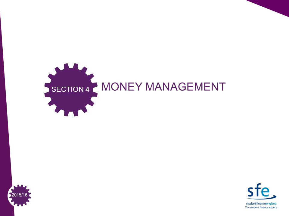 2015/16 MONEY MANAGEMENT SECTION 4
