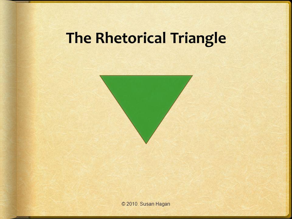 The Rhetorical Triangle © 2010. Susan Hagan