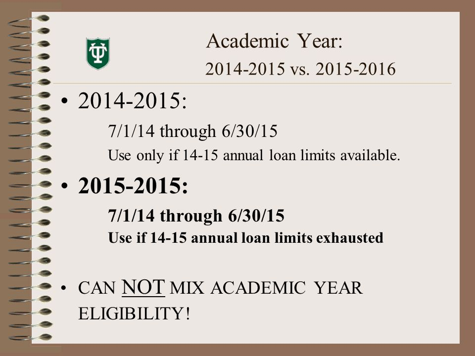 Academic Year: 2014-2015 vs.