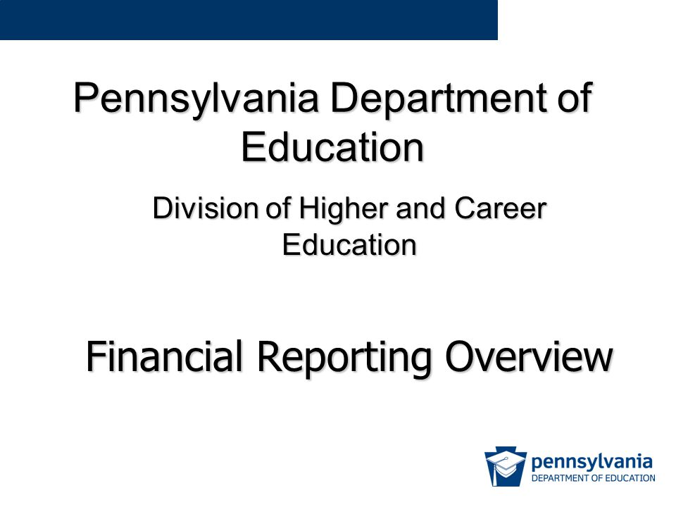 PDE-2006 – Accrual Accounting Accrual Recognized when earned / used Revenue – recognize 1/6 th of the tuition each month for 6 months Expense – recognize 1/12 th of the costs of the insurance each month from May through April Cash Recognized when paid/collected Revenue – recognize the full tuition when paid in October Expense – recognize the full cost of the insurance when paid in April Revenue A student starts a six month program on July 1.