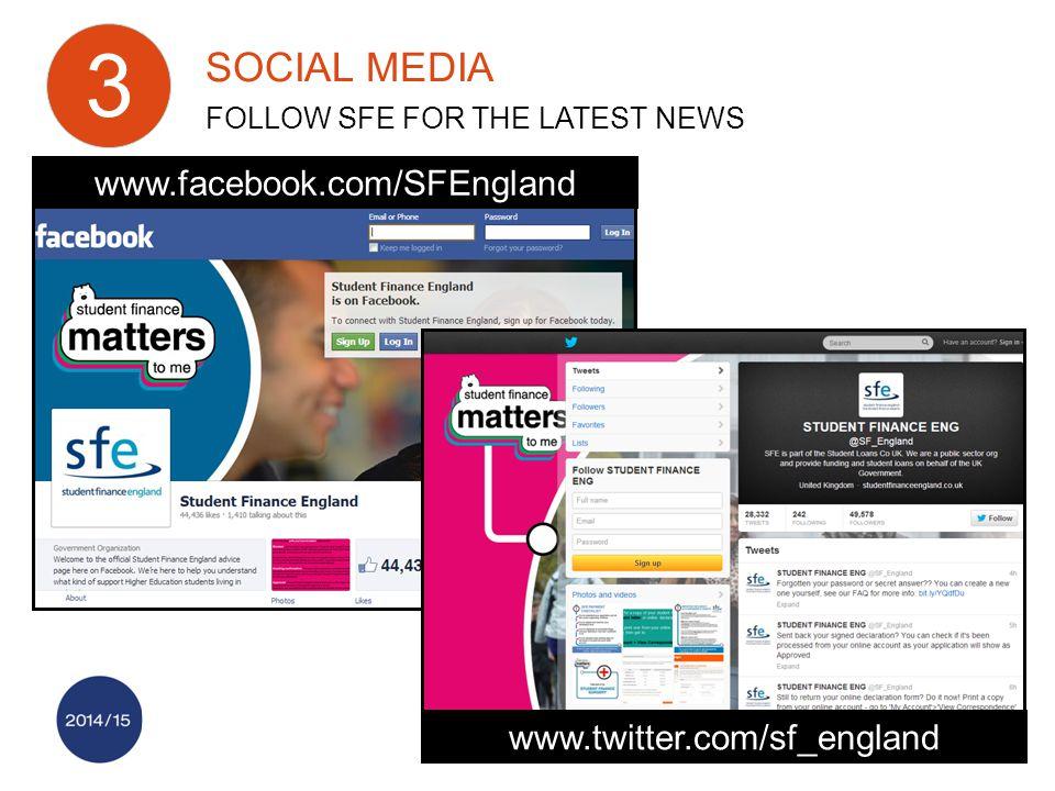 www.facebook.com/SFEngland www.twitter.com/sf_england SOCIAL MEDIA FOLLOW SFE FOR THE LATEST NEWS 3