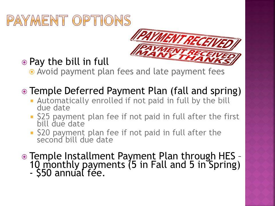  On-line via TUpay – electronic check or credit card.