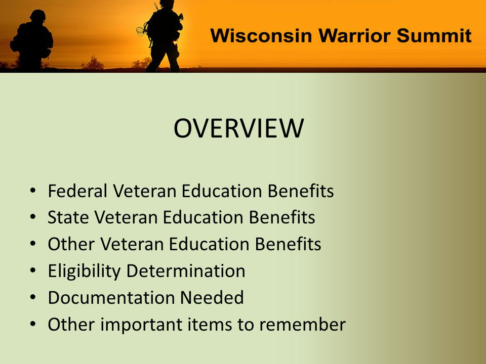 Veteran Education Benefits October 7, 2014