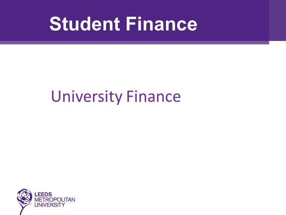 University Finance Student Finance