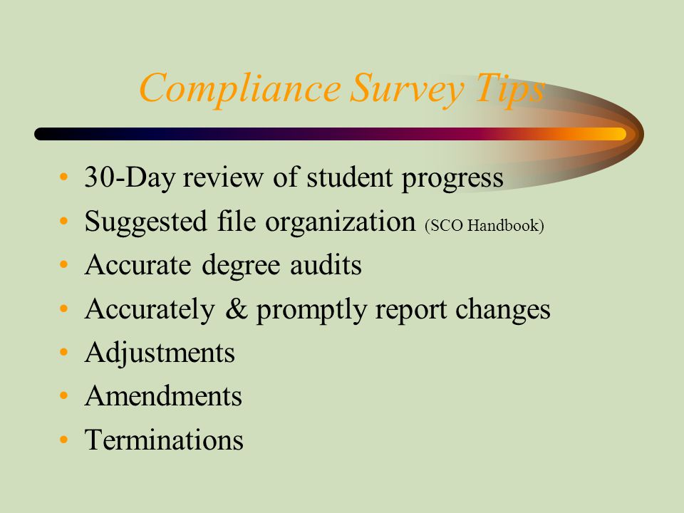 Most Common Errors Found Courses not on degree plan Degree plans not filled out properly Repeat courses Late reports Changes in tuition, fees, or Yellow Ribbon not reported CH33 funds posted or returned incorrectly