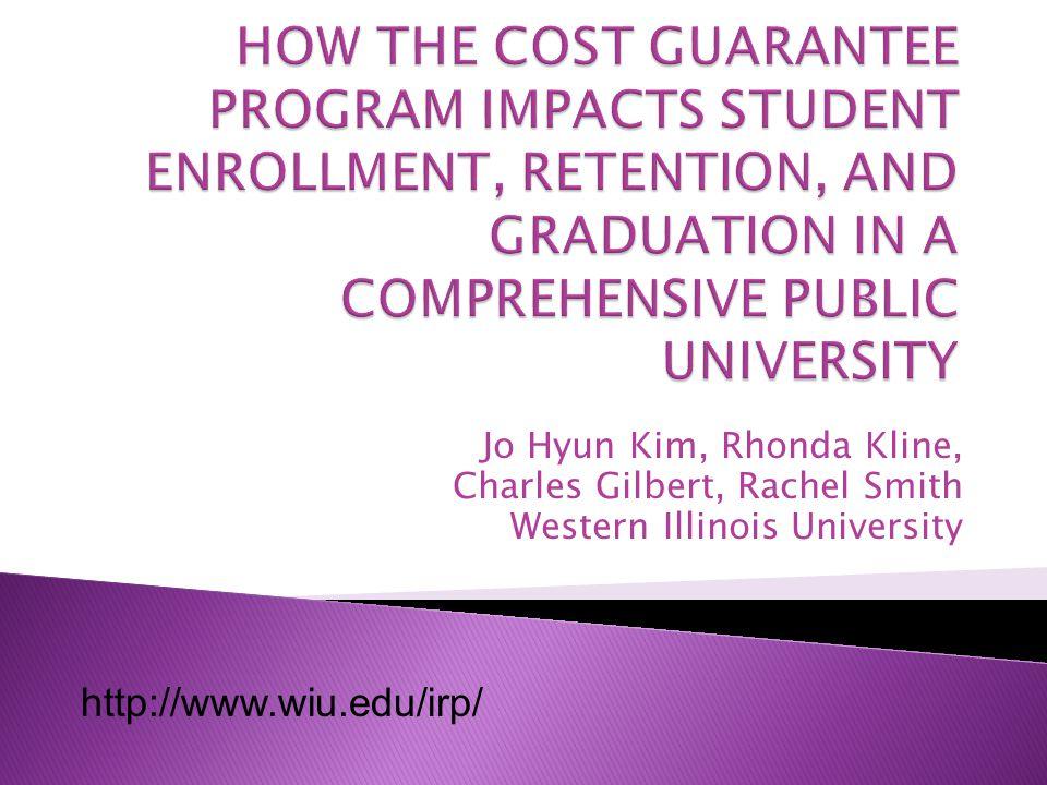 Jo Hyun Kim, Rhonda Kline, Charles Gilbert, Rachel Smith Western Illinois University http://www.wiu.edu/irp/